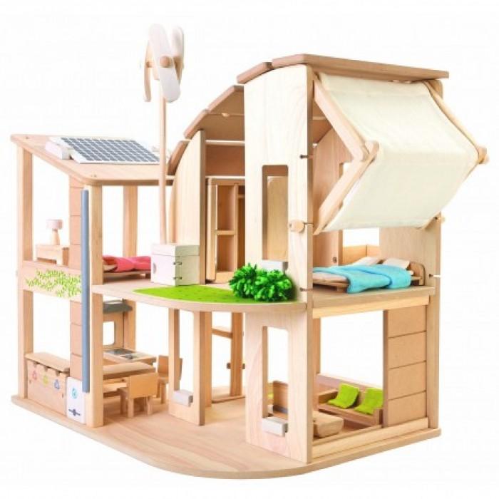 Еко-дом с мебелью ECO HOUSE PLAN TOYS