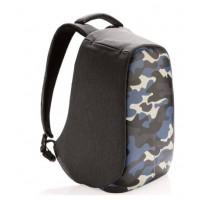 Рюкзак Bobby  Compact Camouflage, синий