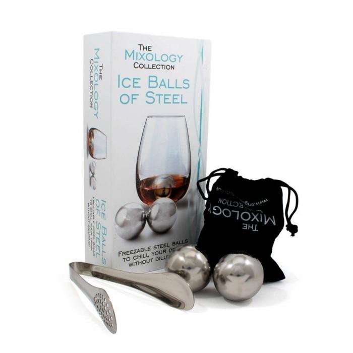 Охлаждающие стальные шары для виски Ice Balls