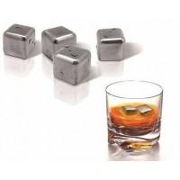 Охлаждающие кубики для виски Rocks of Steel
