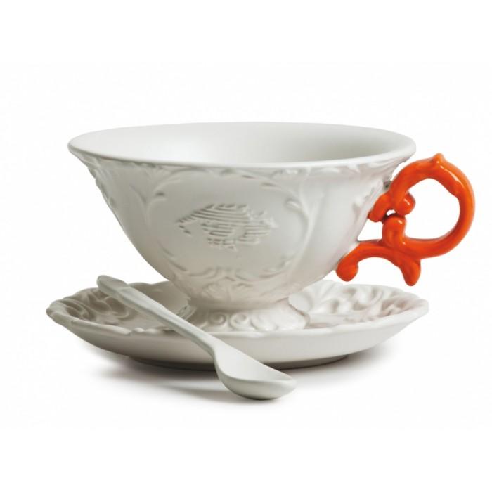 Чашка с блюдцем «I-WARES  I-TEA»