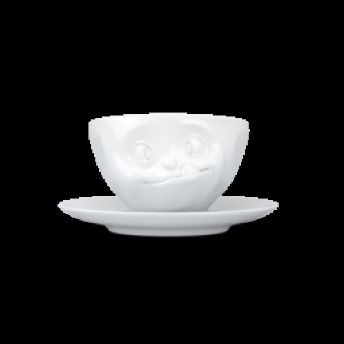Чашка с блюдцем для кофе Tassen Tasty