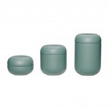 Баночки для хранения GREEN сет из 3