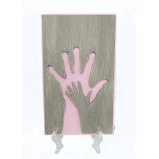 Открытка HANDS PINK