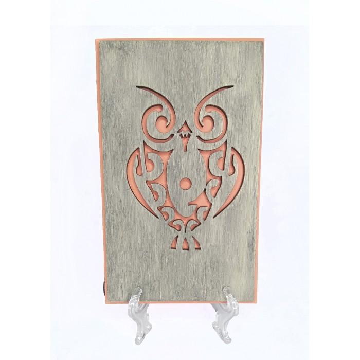 Открытка OWL RED