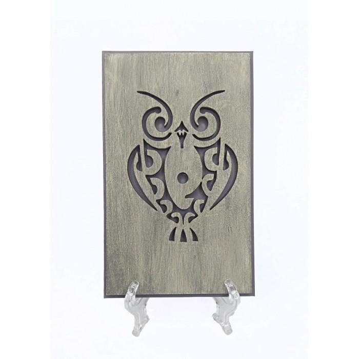 Открытка OWL GRAY