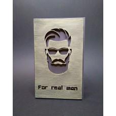 Открытка REAL MAN