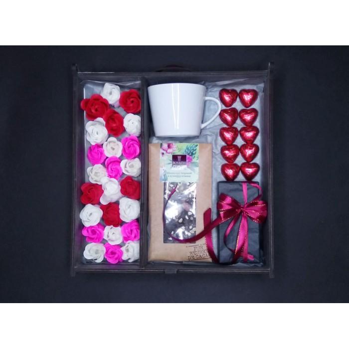 Подарочный набор Roses and Сoffee