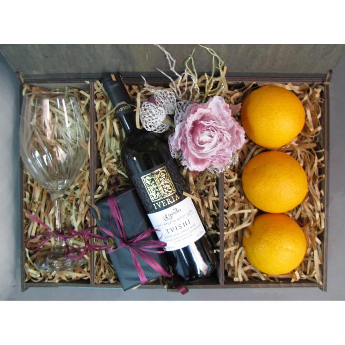 Подарочный набор Orange and Wine