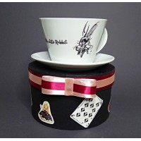 Чашка Alice in Wonderland Black
